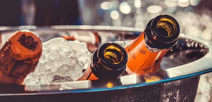 Šampanjac na ledu
