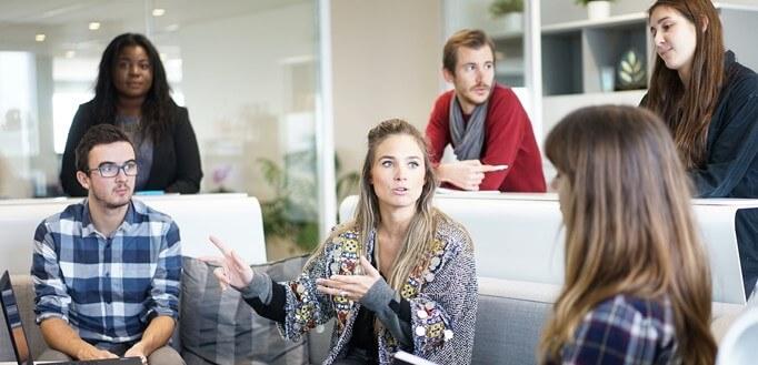 Diskusija na poslu