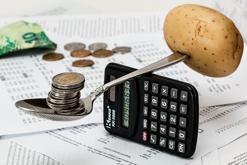 Balansiranje novca na kalkulatoru